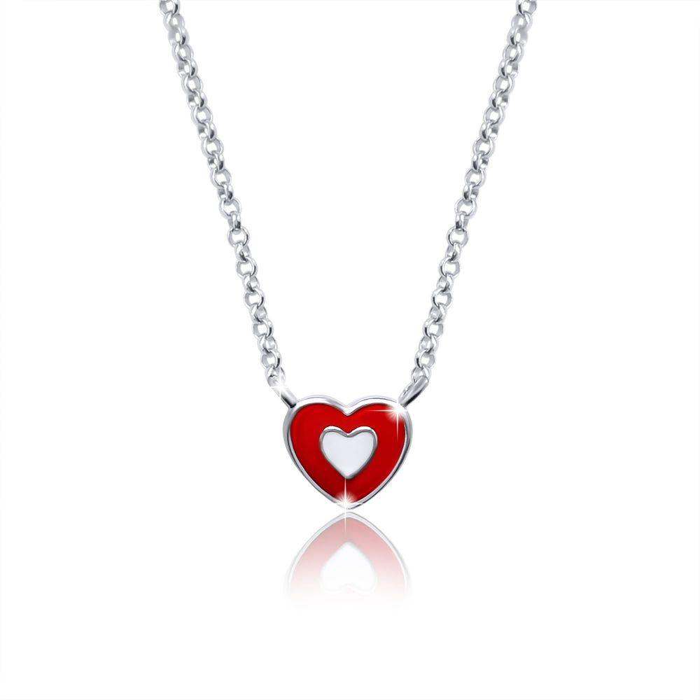 """Necklace """"Heart to heart"""""""